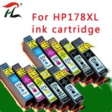 10PK 178 178XL compatible Ink Cartridge for HP178XL HP Photosmart 5510 5515 6510 7510 B109a B109n B110a Printer