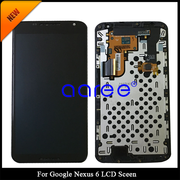 Tracking No 100 tested AMOLED For Moto Google Nexus 6 LCD for XT1100 XT1103 Display LCD