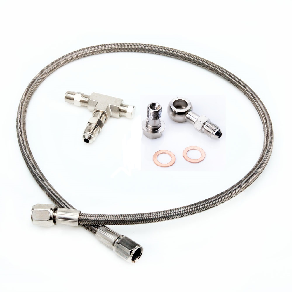 Kinugawa Turbo Oil Feed Line Kit for Garrett GT25 GT28 GT30 GT35 купить в Москве 2019