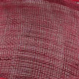 Элегантные шляпки из соломки синамей с вуалеткой хорошее Свадебные шляпы высокого качества черного цвета Клубная кепка очень хорошее 17 цветов MSF099 - Цвет: marron