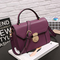 2016 Luxury Brand  Women Handbags PU Leather Medium Tote Bags  Shoulder Crossbody Messenger Bags Purse Sac a Main