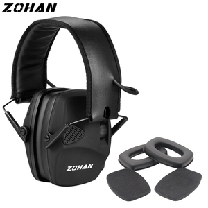 Image 2 - ZOHAN Electronic Earmuff NRR22DB Ear Cup for Single Microphone Hunting Earmuffs Tactical Shooting Hearing Protection Replacement
