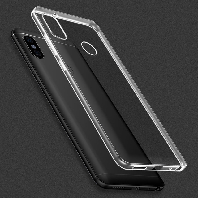 new product cf414 36e91 Ricestate case For Xiaomi Redmi Note 5 Pro Case Transparent Crystal ...