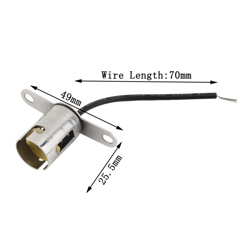 2pcs/lot BA15s 1156 Bayonet Light Bulb Socket Auto lamp holder base ...