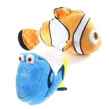 20cm Cute Finding Nemo Clown Fish Stuffed Animal Soft Doll Plush Toys For Children Baby Birthday Gift Kids Toys Nemo Dory