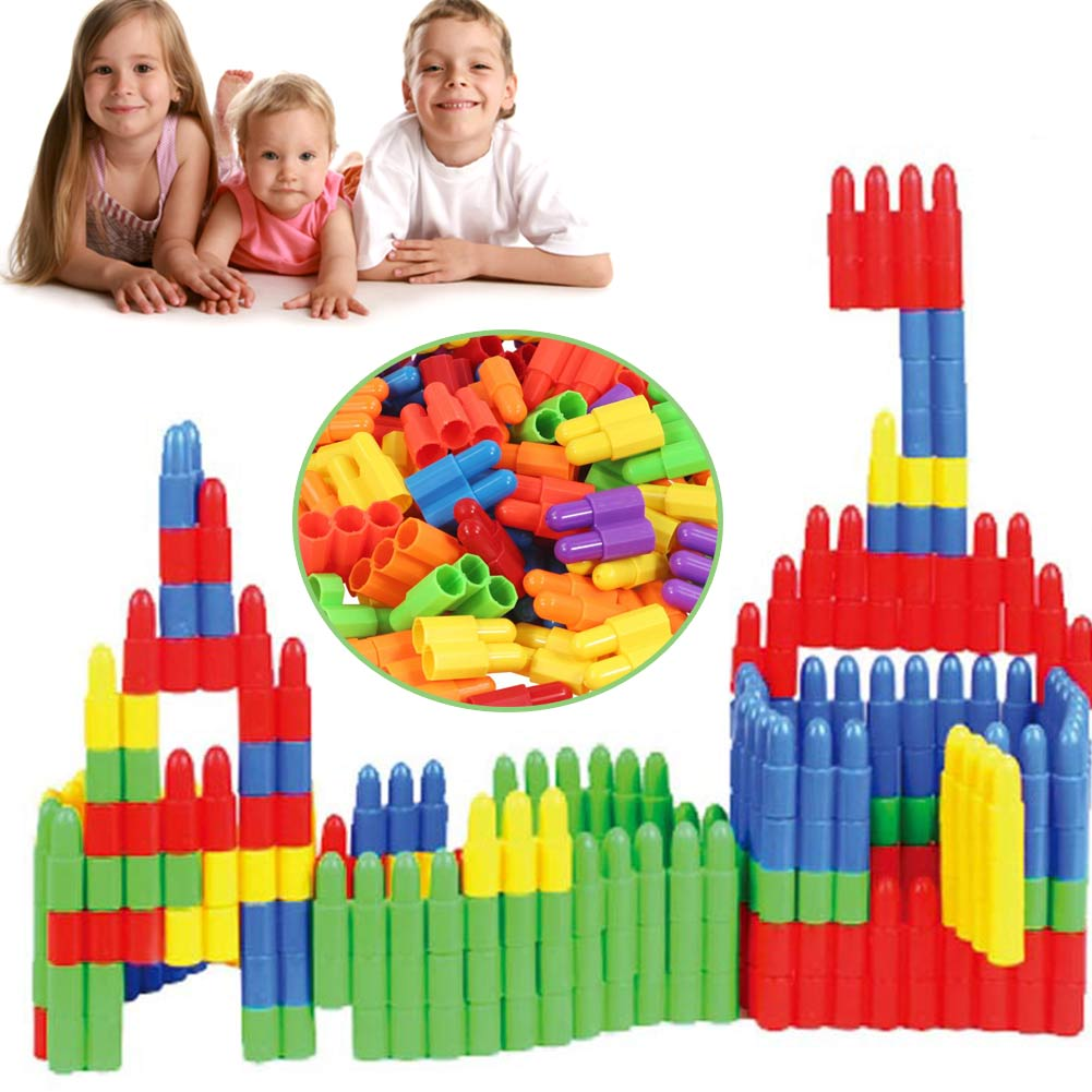 Children Kid Baby Bulding Blocks Bricks Learning Toy Educational ABS Plastic YH-17 ...
