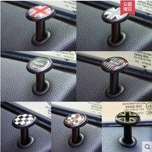 1set=2pcs Door lift Scratch proof stickers Refit ornaments car styling Badge stickers for BMW mini cooper F55/F56/F54 countryman