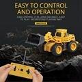Мини-размер  Радиоуправляемый пульт дистанционного управления  строительный автомобиль  инженерный автомобиль  экскаватор  модель игрушек...