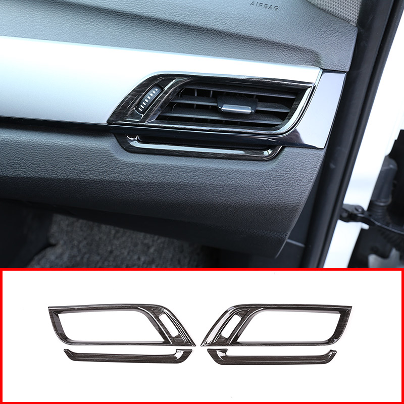 Black Wood Grain Colour For BMW X1 F48 2016 2019 For BMW