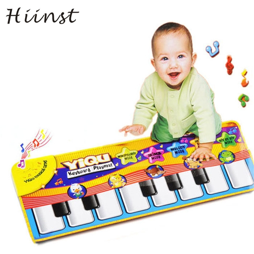 HIINST drop ship New Touch Play Keyboard Musical Music Singing Gym Carpet Mat Best Kids Baby Gift P15 APR6