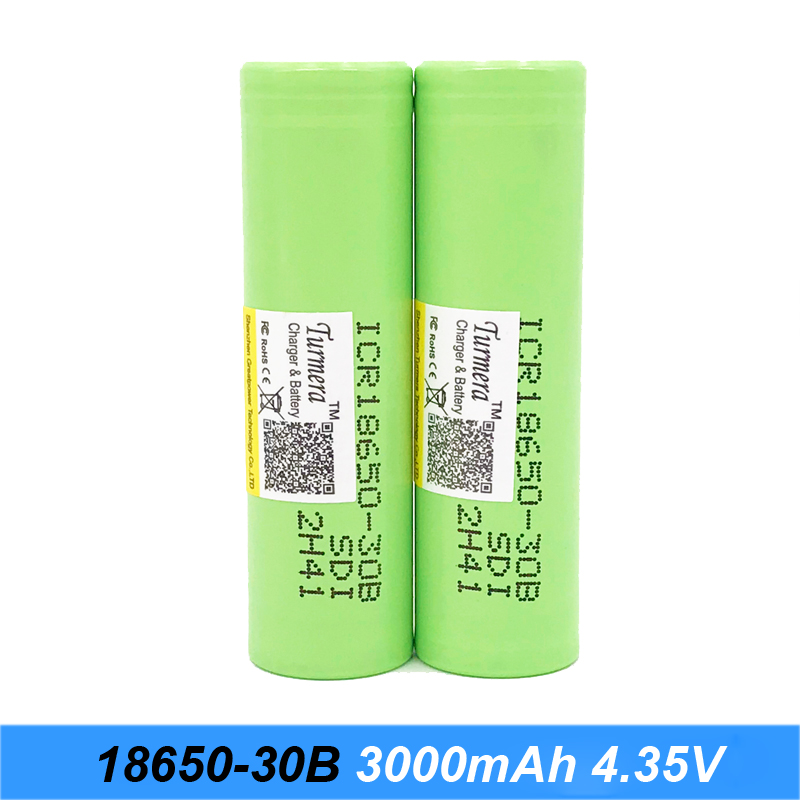 flashlight <font><b>18650</b></font> battery icr18650 30b 3000mah 3.7 V lithium-ion Rechargebale for charger <font><b>18650</b></font> Turmera j10 image