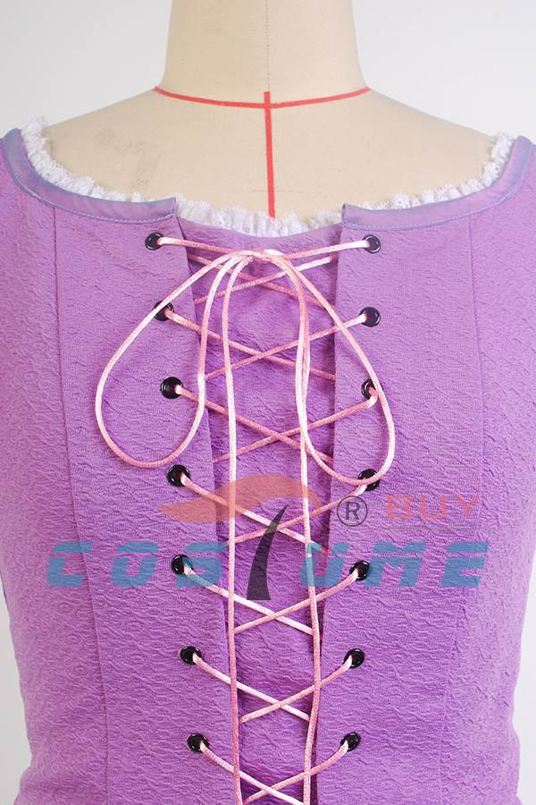 Princeza Rapunzel kostim za odrasle Fancy Rapunzel haljina zapletena - Karnevalske kostime - Foto 5