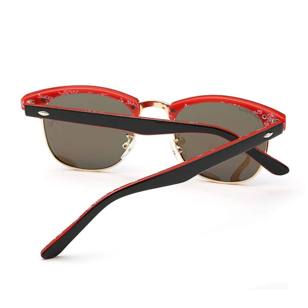 AEVOGUE Gafas de Sol Polarizadas Hombres Retro Remache de Alta - Accesorios para la ropa - foto 4
