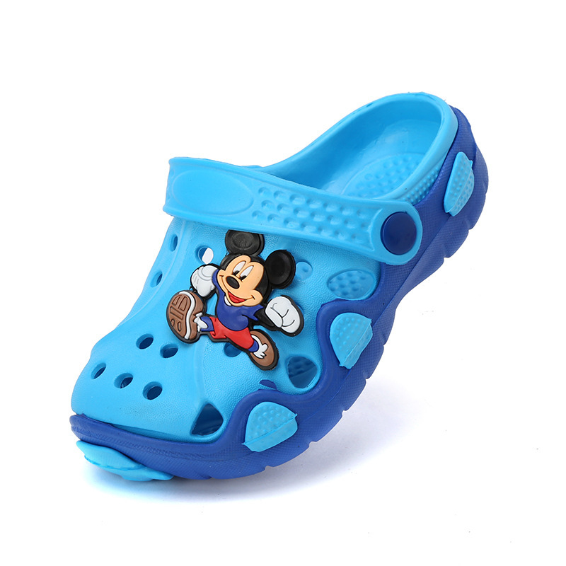 Children Sandals Clog Baby Boys Girls Sandals Kids Rubber Mules Clogs Summer Breathable Outdoor Child Slippers Beach Shoes