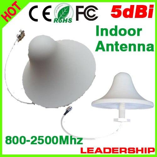 450 мГц-2100 мГц вдохните Топ потолок антенна для мобильного телефона GSM/CDMA/DCS/PHS/ 3 г сигнал повторителя/усилитель/увеличитель/booster
