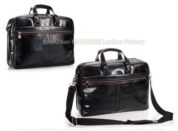 Luxury Genuine Leather Men Briefcase Leather laptop bag men leather  briefcase handbags business bag shoulder bag crossbody bag USD 181.80 piece 6571842f1a
