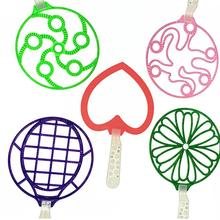 1 шт. воздушный вентилятор, выдувной пластиковый детский большой гигантский Вентилятор Кольцо устройство для мыльных пузырей Пузырьковые палочки для девочек мальчиков
