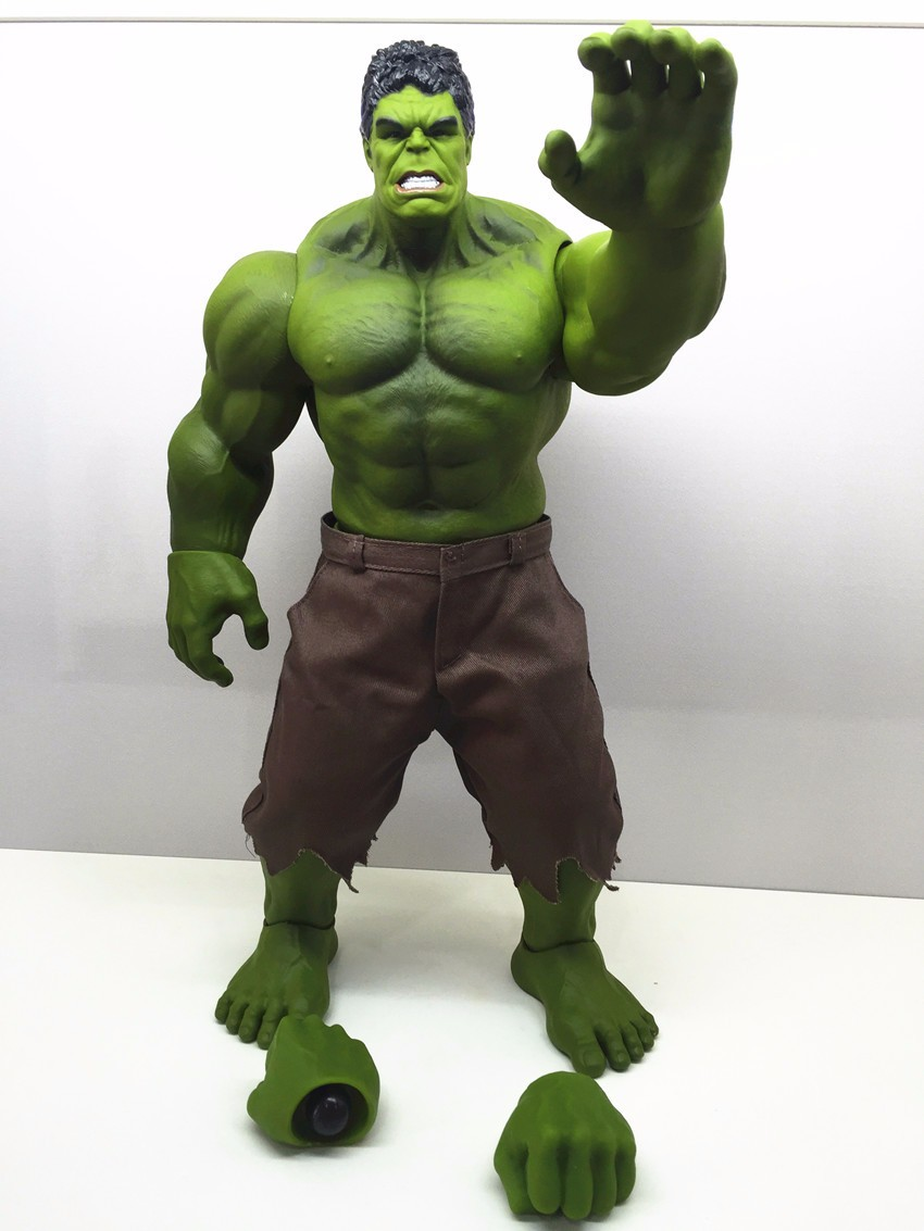 Hulk Action Figure Avengers Incredible Hulk Iron Man Hulk Buster Hulkbuster 42CM PVC Collectible Model Toys Hulk