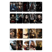 1 PCS Marvel Hero Thor Movie Theme Poster DIY Sticker Post It Decoration Scrapbook Planner Sticker Flakes(China)