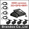 4 Channel 1080p 3G MDVR Kit Including 4 Cameras And 4 Video Cables Support 3G Live