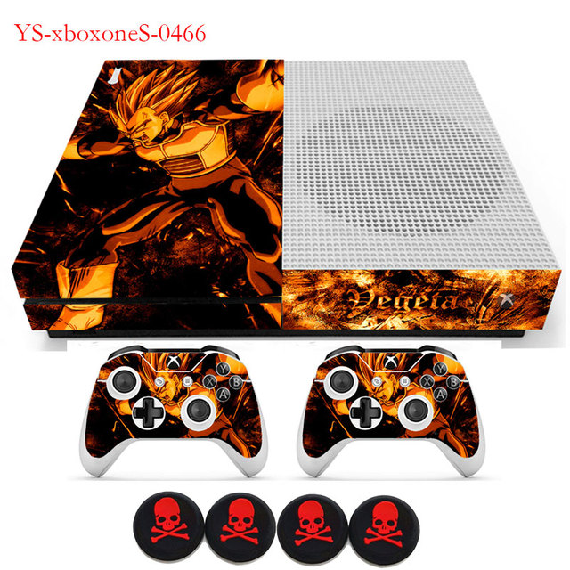 Dragon Ball Z Goku Slim Vinyl Sticker Protective For Xbox One