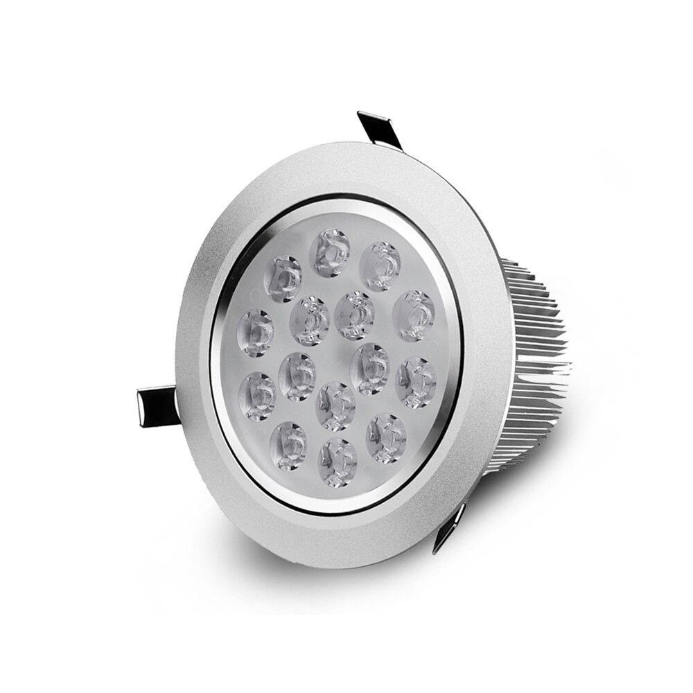 Led Downlight 3w 5w 7w 9w 12w 15w 18w Round Recessed Lamp