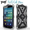 Nueva caja del teléfono para meizu mx4 pro caso ultrafino de 360 grados de metal cubierta de teléfono de protección para meizu mx4 pro caja del filtro del teléfono