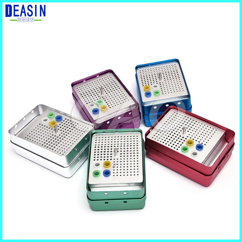 180 Holes Dental Disinfection Burs Holder Block Stand Autoclavable Sterilizer Box Dentist Lab Equipment endo box autoclave 12 liters dental sterilizer class b without printer medical dental lab equipment disinfection cabinet discount