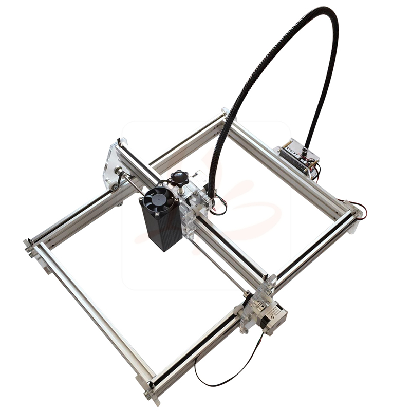 500mw 2500mw 10W Blue Violet Mini Laser Engraving Machine 3040 Laser Height Adjustable Free Tax Ro RU