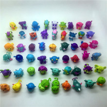 30pcs lot very cute cartoon mini dolls toys PVC Action Figures Toys for kids
