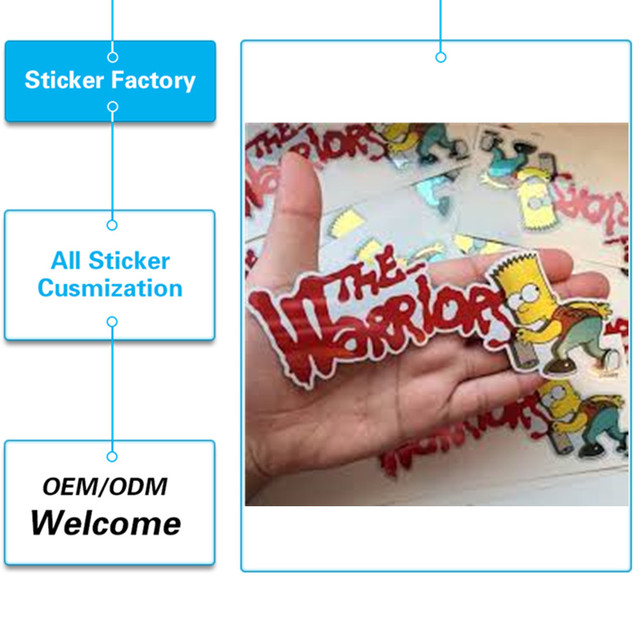 Uv protected outdoor durable waterproof pvc custom car sticker printing