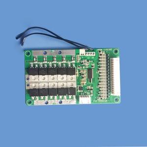 Image 2 - 11 S de Proteção Inteligente de bateria de Iões de Lítio BMS e placa PCB com bluetooth e comunicação com o PC 30A de carga e descarga atual