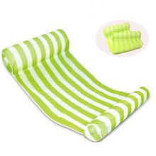 Stripe Swimming Pool Floats Air Mattress Inflatable Sleeping Bed