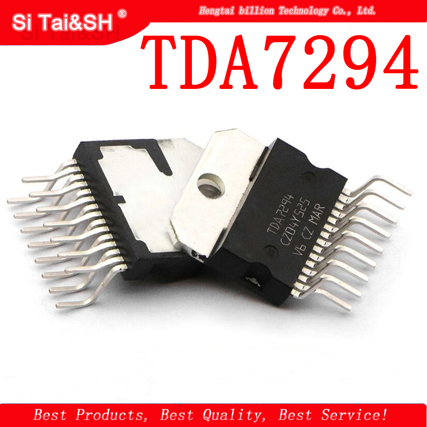 2PCS TDA7294 TDA7294V ZIP-15 Chip Is 100% Work Of Good Quality IC