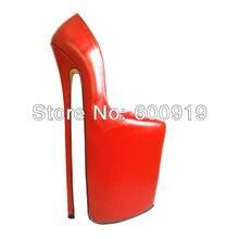 Freies verschiffen, 30 cm Ferse Hohe Sexy Schuhe, High Heel Schuhe, Echte Lederne Schuhe, High Heels, KEINE. y3012R