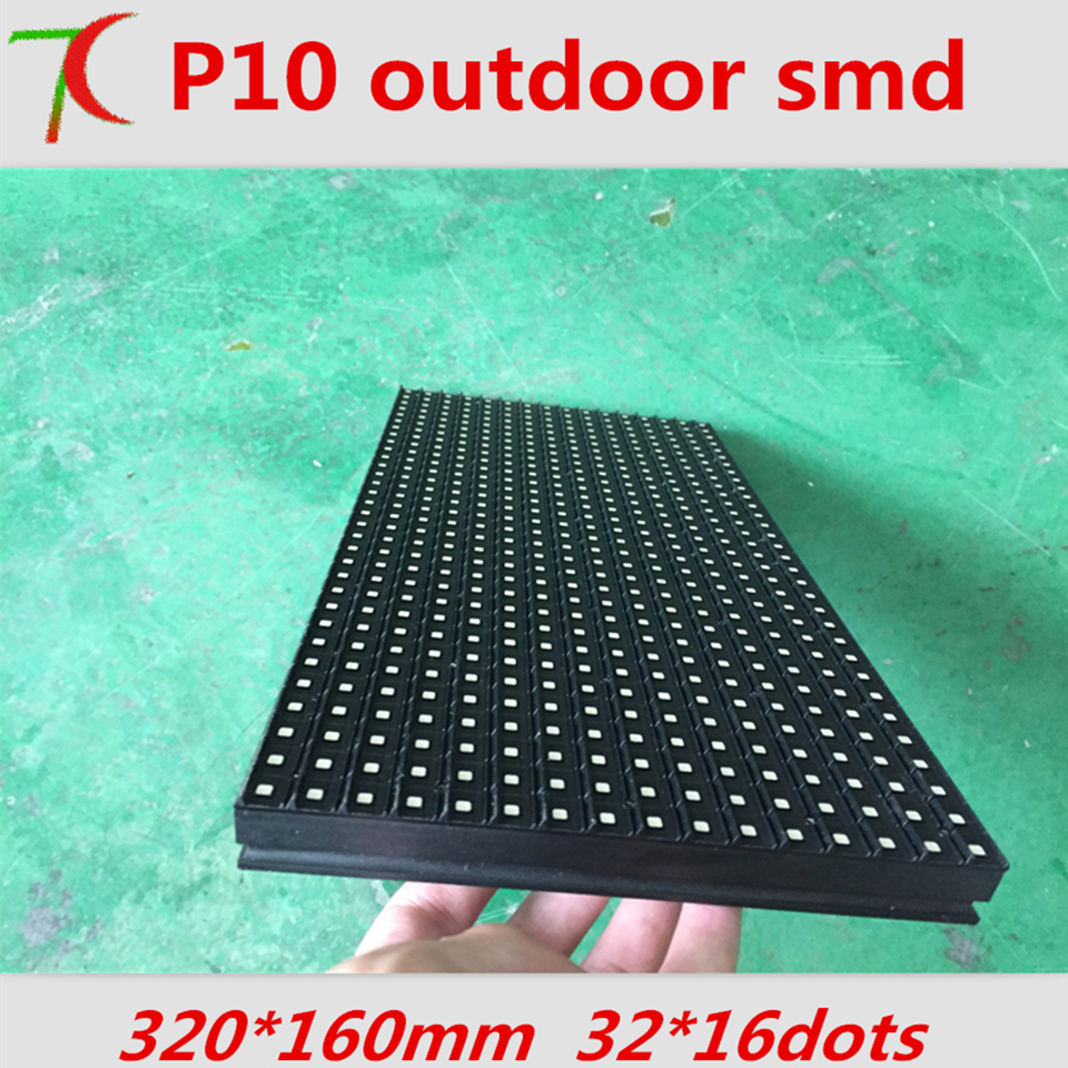 Good Price  P10 4S  Waterproof Full Color Module For Outdoor Led Display, SMD3535,1RGB,10000dots/m2
