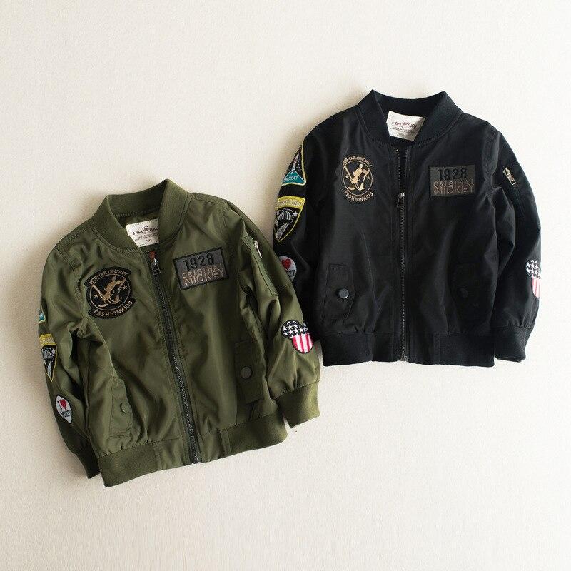 Aliexpress.com : Buy 2017 New Children Bomber Jacket Autumn Winter ...