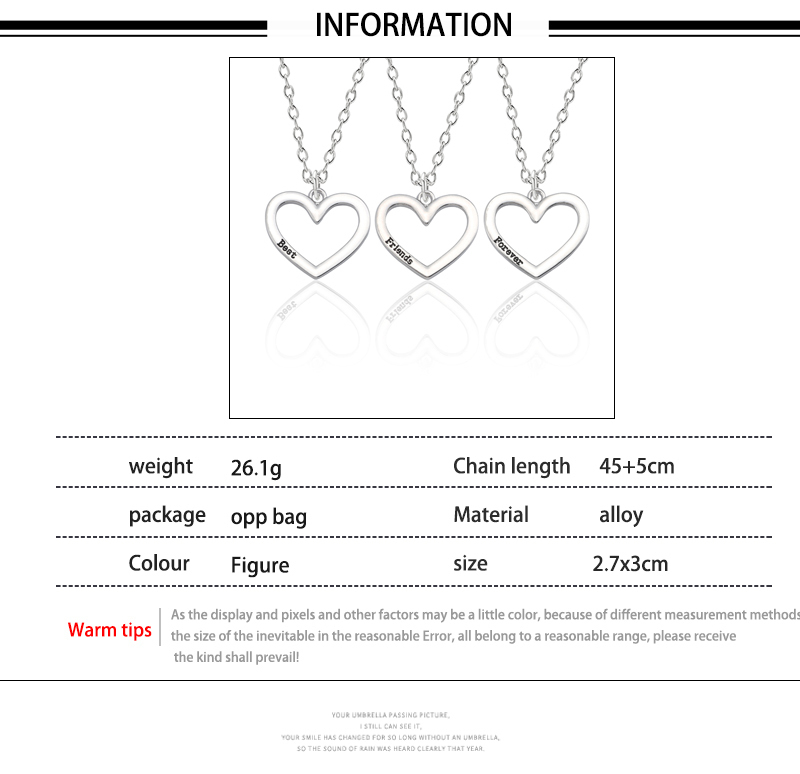 HTB1vBYMXdfvK1RjSspfq6zzXFXab - Best Friend Necklace Women Crystal Heart Tai Chi Crown Best Friends Forever Necklaces Pendants Friendship BFF Jewelry Collier