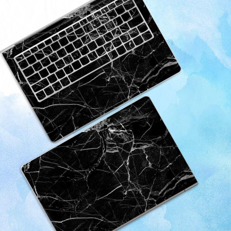 10 pcs/lot autocollant pour ordinateur portable autocollant de peau pour Macbook Air Microsoft Dell HP ASUS Lenovo Samsung ABC côtés autocollant de couverture complète - 2