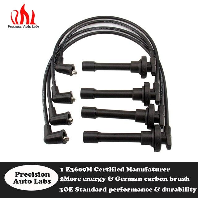 Astounding Carbole 7Mm Spark Plug Wires For Honda Acura For Jdm Ngk Set He64 Wiring Digital Resources Instshebarightsorg