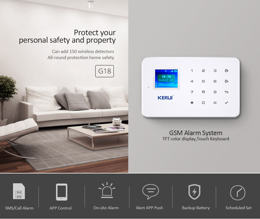 Burglar alarm kit  : realspygadgets.com