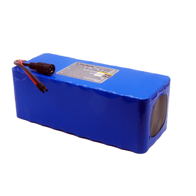 Image 5 - LiitoKala 36V 10ah 500W 18650 lithium battery 36V 8AH Electric bike battery with PVC case for electric bicycle-in Battery Packs from Consumer Electronics