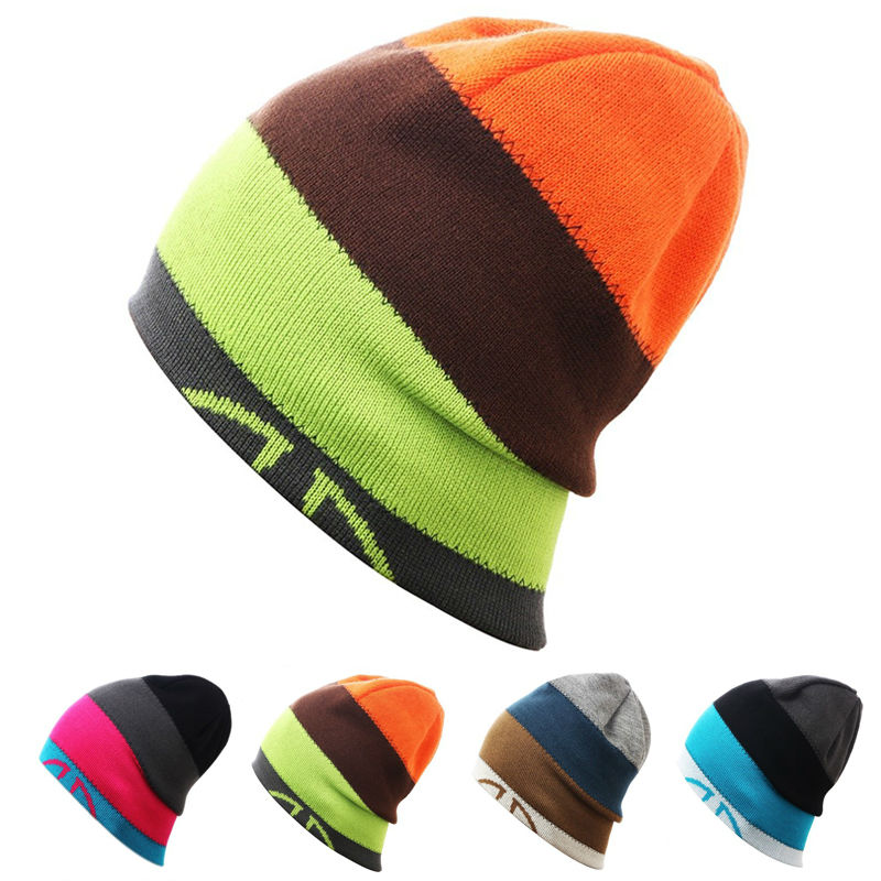 Men Women Skiing Warm Winter Hats Knitting Skating Skull Caps For Woman Turtleneck Beanies Hat Snowboard Ski Cap cleo комплект постельного белья cleo евро поплин 4 пред