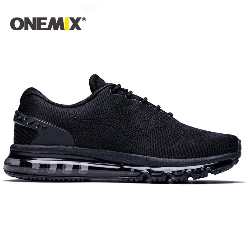 Onemix 2017 nuevos hombres zapatos para correr diseño único - Zapatillas - foto 6