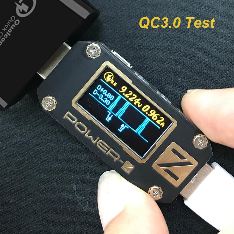 POWER-Z QC3.0 / PD USB teszter Digitális voltmérő amperimetro - Mérőműszerek - Fénykép 5