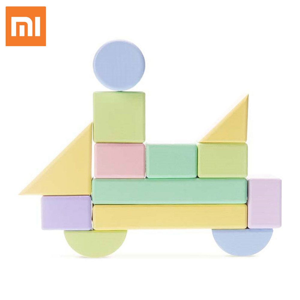 Xiaomi Mijia 80PCS Home Eco-friendly Building Blocks Wooden Colorful Intelligence Development Puzzle Toy Electrical Sockets colorful pineapple ru bun lock children puzzle toy building blocks