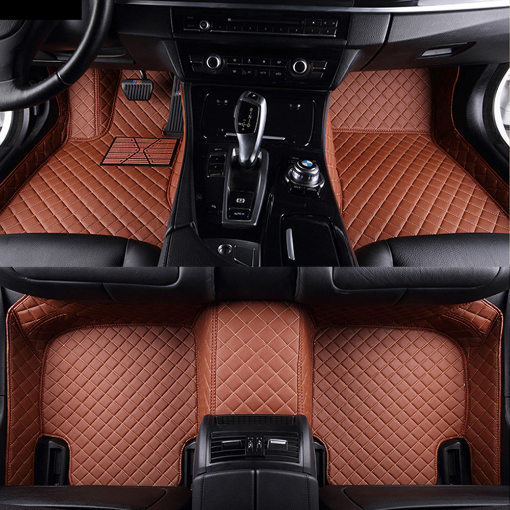Car floor mats Case for Toyota Camry Corolla RAV4 Mark X Crown Verso Cruiser car-styling leather Anti-slip carpet liners Car floCar floor mats Case for Toyota Camry Corolla RAV4 Mark X Crown Verso Cruiser car-styling leather Anti-slip carpet liners Car flo