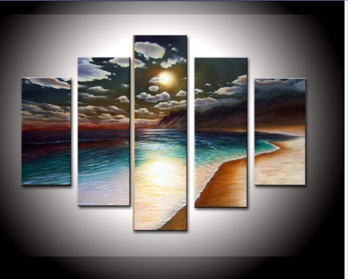 Oil Paint Wall Design : Aliexpress buy hand painted oil painting artwork the