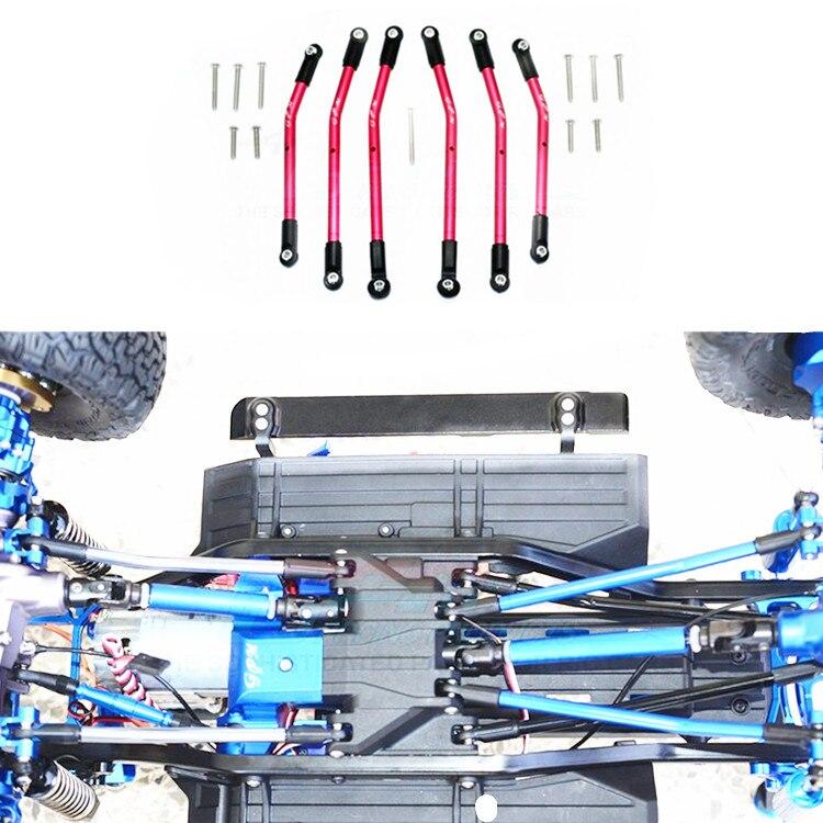 ALLOY ADJUSTABLE UPPER LOWER SUSPENSION LINK for 1 10 TRAXXAS TRX 4 TRX4 DEFENDER TRAIL CRAWLER