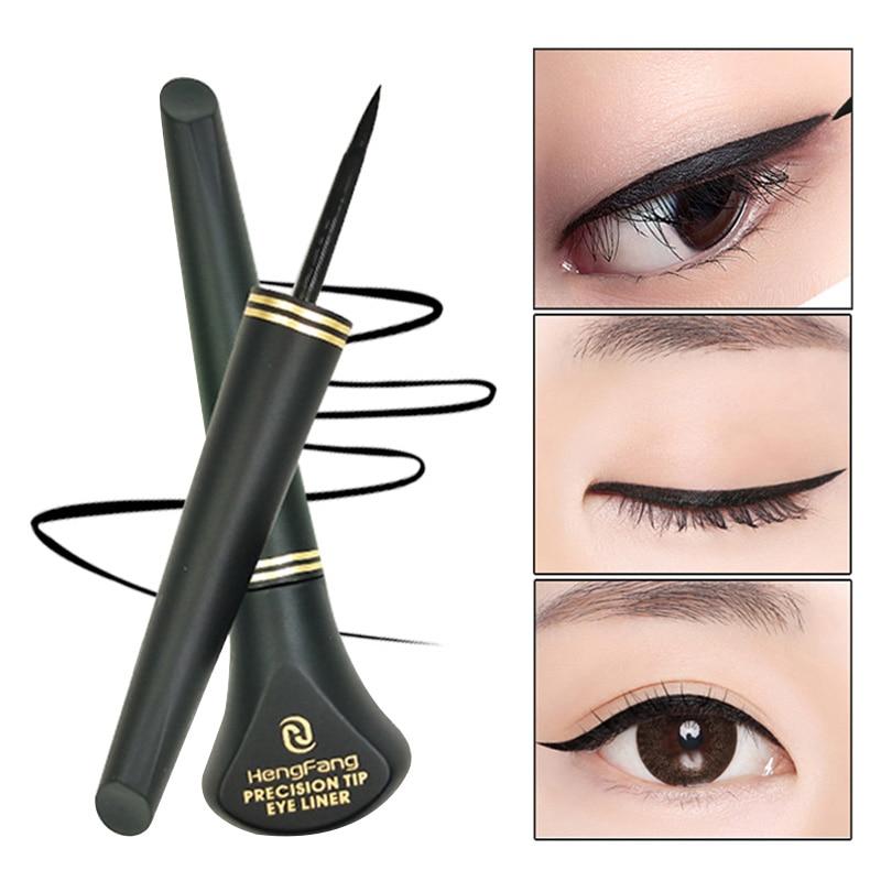 Black Make Up Eyeliner Cosmetic Waterproof Liquid Eyeliner Eye Liner Pencil Pen Beauty Eyeliner Makeup M01217 Revlon Pro Collection Salon One-Step Hair Dryer and Volumizer